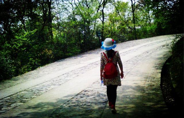 豫西大峡谷风景区 大胆挑战