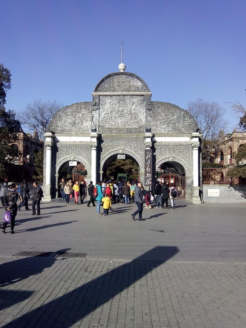 北京动物园周日亲子散步游记