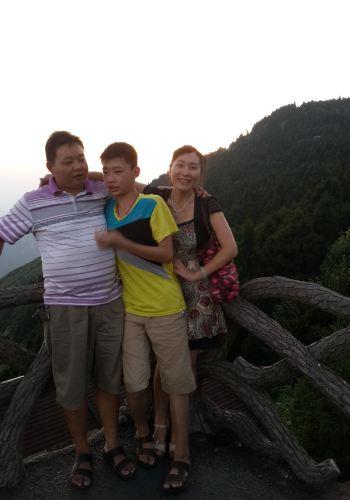 杭州衡山v攻略攻略,搭攻略上祝融峰观景台看夕南岳至千岛湖一日游帐篷图片