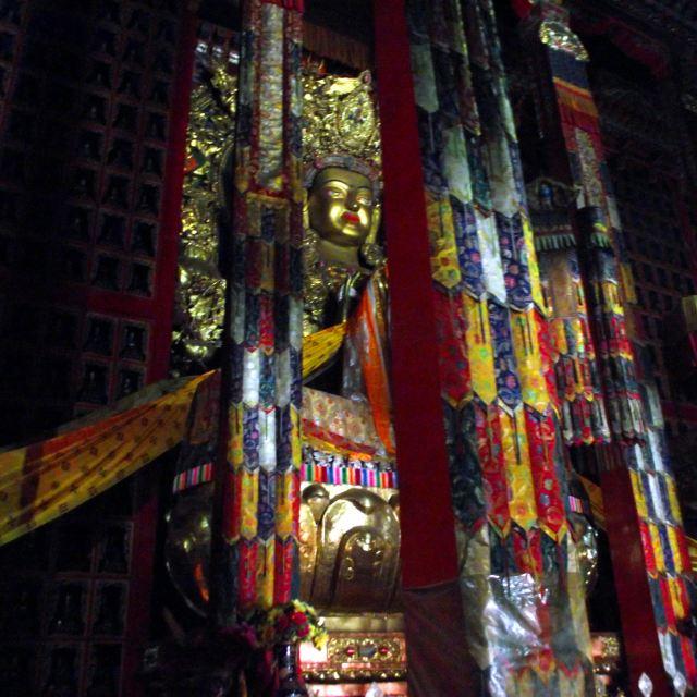 在寺庙区域还有一个塔楼,塔不高但上去要买门票上塔20元.