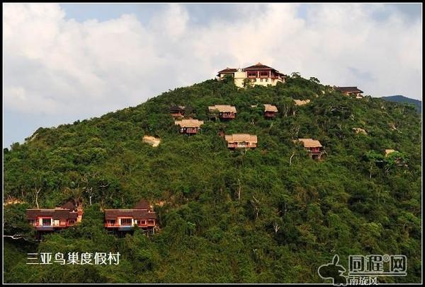 在三亚人间天堂鸟巢度假村享受奢华