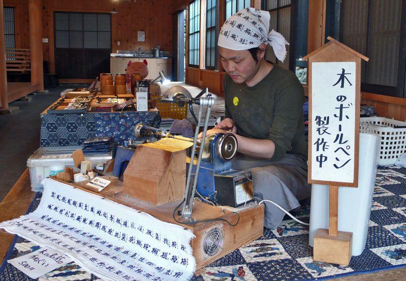 筷子手工制作井