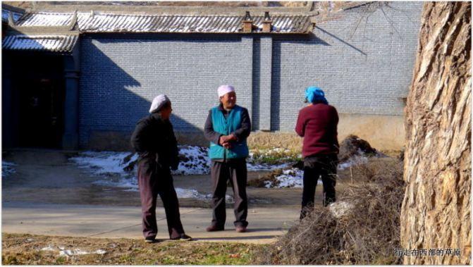 冬天的徒步.冶力关.穿越甘南游记-广安幽谷攻赤壁两日自助游攻略图片
