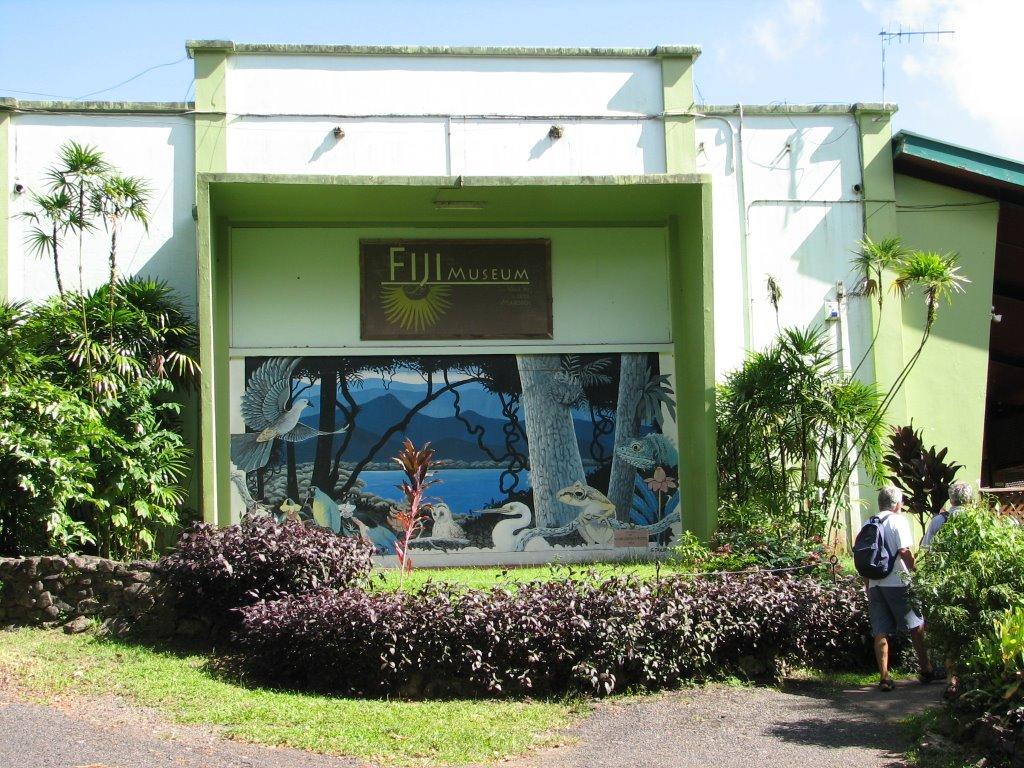 斐濟博物館  Fiji Museum   -1