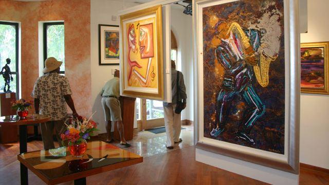 室内雕塑设计展览馆图片