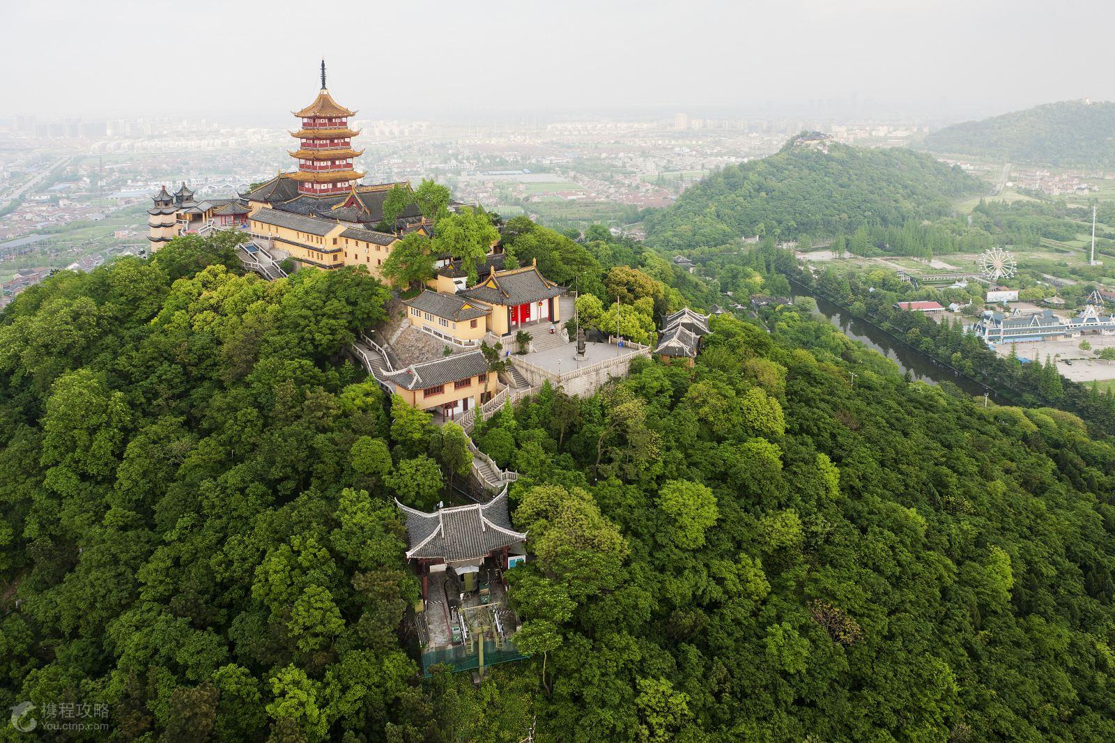 狼山风景名胜区是江苏省著名的六大风景区之一