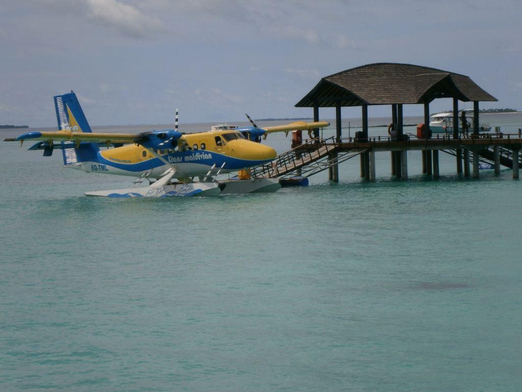 水上飞机停靠码头
