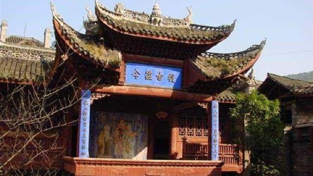 南方木结构四合院,具有浓郁的湘西民族建筑风格