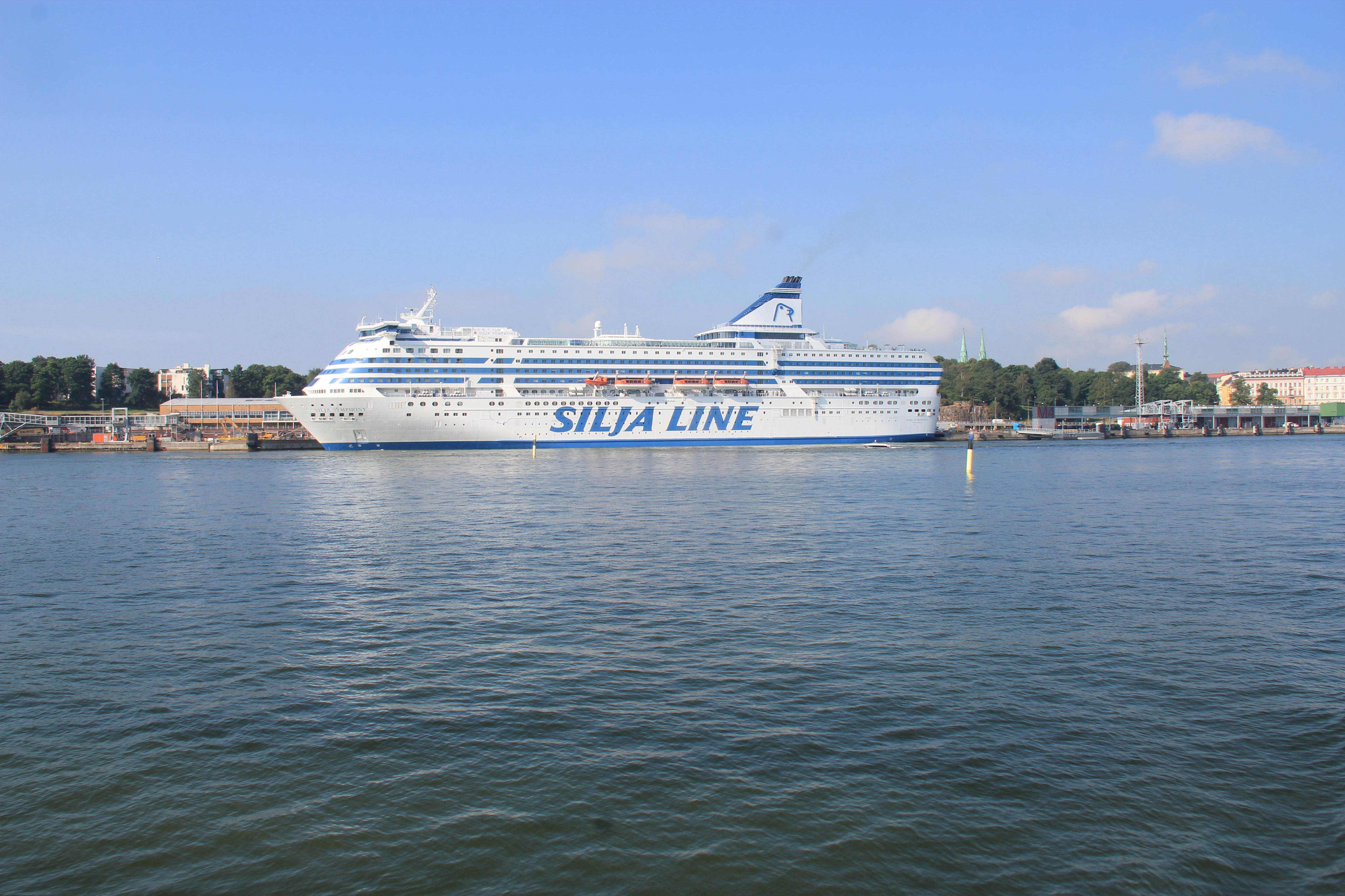 奥兰群岛以及俄罗斯的豪华游轮
