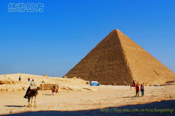 【埃及】实拍埃及开罗巍峨的金字塔群