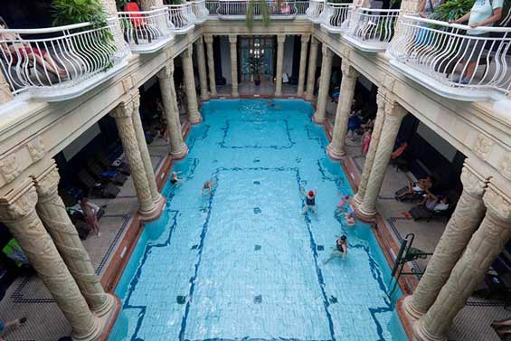 盖勒特温泉  Gellert thermal baths   -1