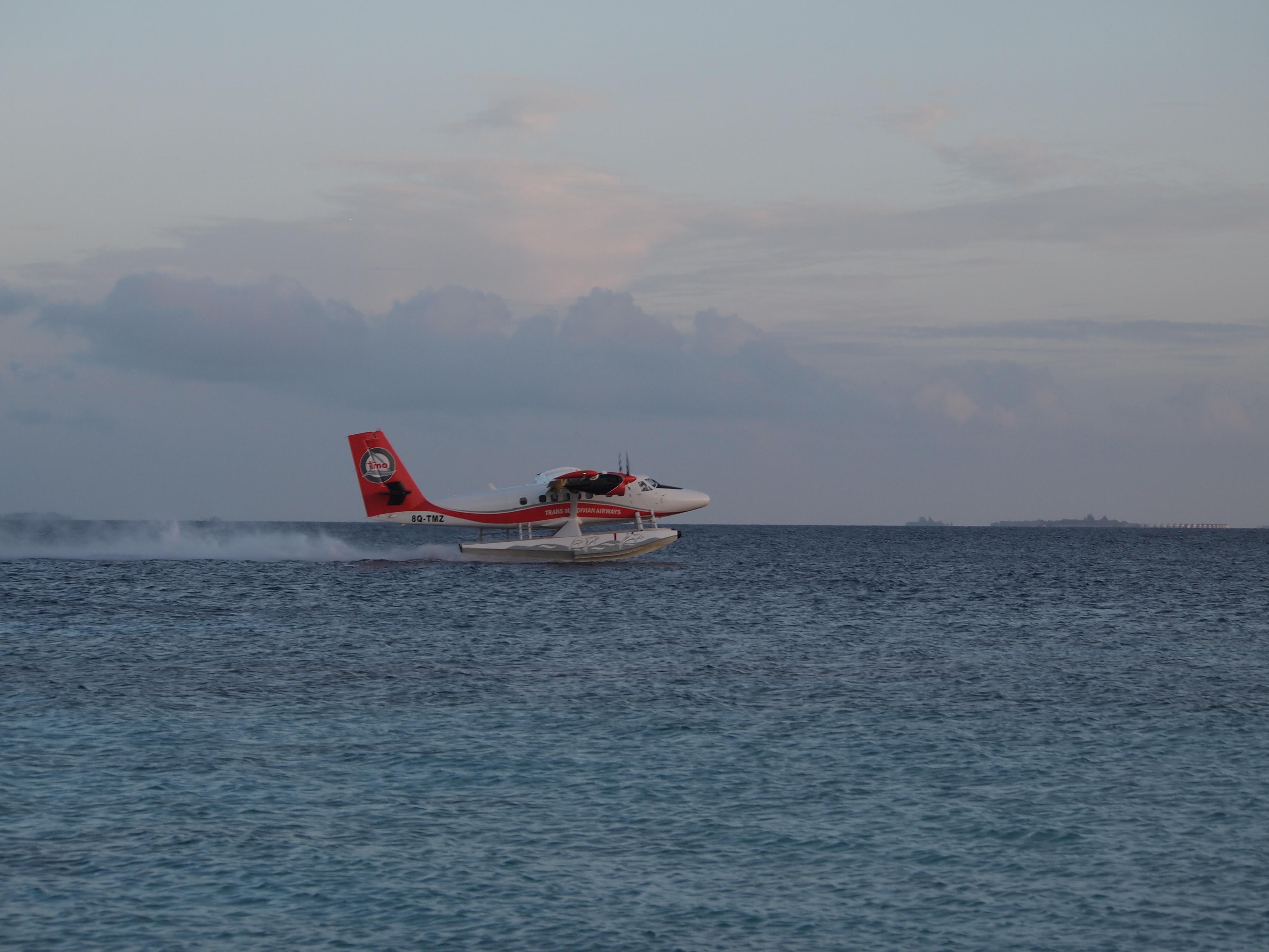 水上飞机        今天的第4程飞机