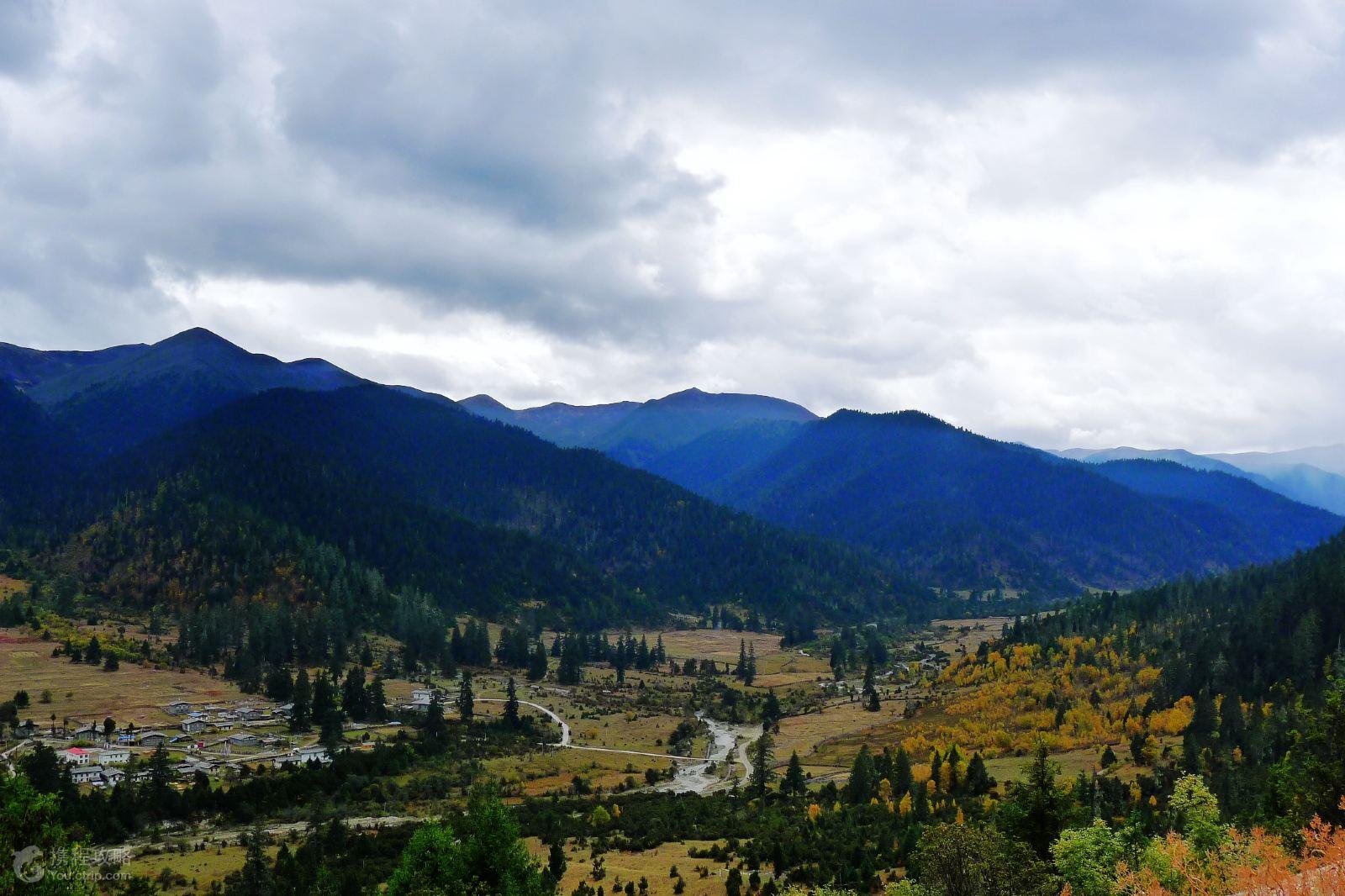 * 西藏民俗第一村 桃花沟 鲁朗林海   * 世界最大峡谷:【雅鲁藏布