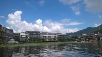 双廊的南诏国岛上的杨丽萍别墅