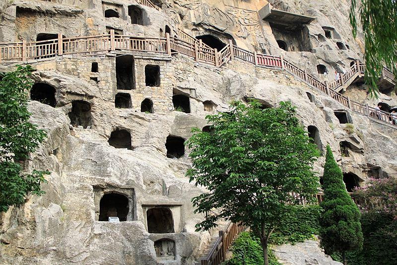 嵩山风景区组合结构