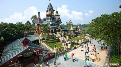 22 迷离庄园_香港迪士尼乐园