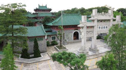 奎福古寺全景