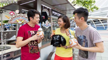 8 品尝星战美食_香港迪士尼乐园