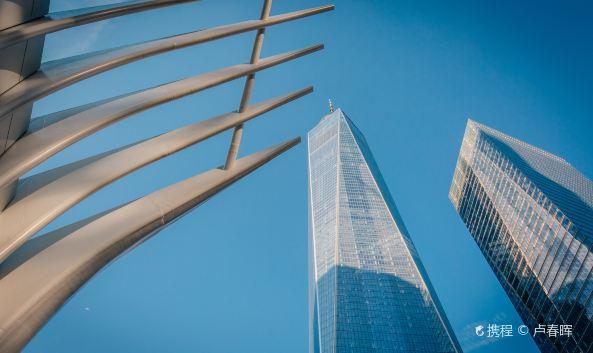 "<p class=""inset-p"">新世贸大厦在911事件后开始修建,建在原世贸遗址旁,历经13年完工。目前已有多家企业入驻办公,一号楼共104层,现已对游客开放,你可以乘坐高速景观电梯直达100层观景台,全方位观赏纽约的景致。</p>"