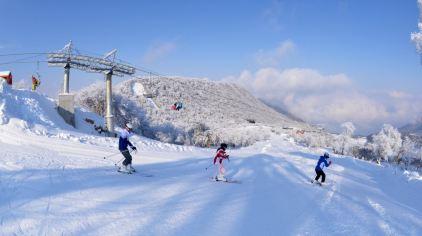 九鼎山太子岭滑雪场1