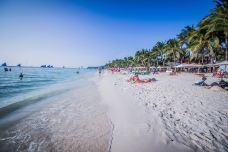 白沙滩-长滩岛-是条胳膊