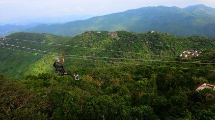 飞跃亚龙湾雨林 (2)