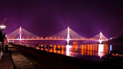 交运长江夜游-夷陵长江大桥2