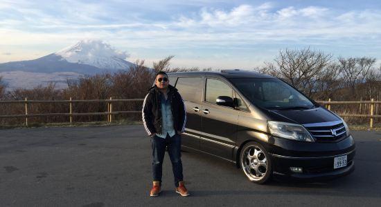 【携程攻略】东京-富士山 箱根 一日游-用车租