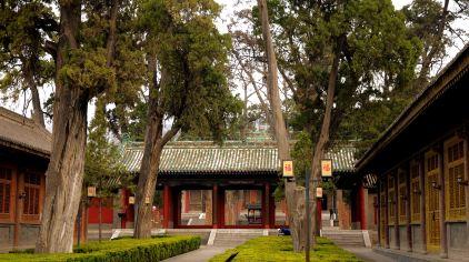 伏羲庙 行走在西部的草原(1)