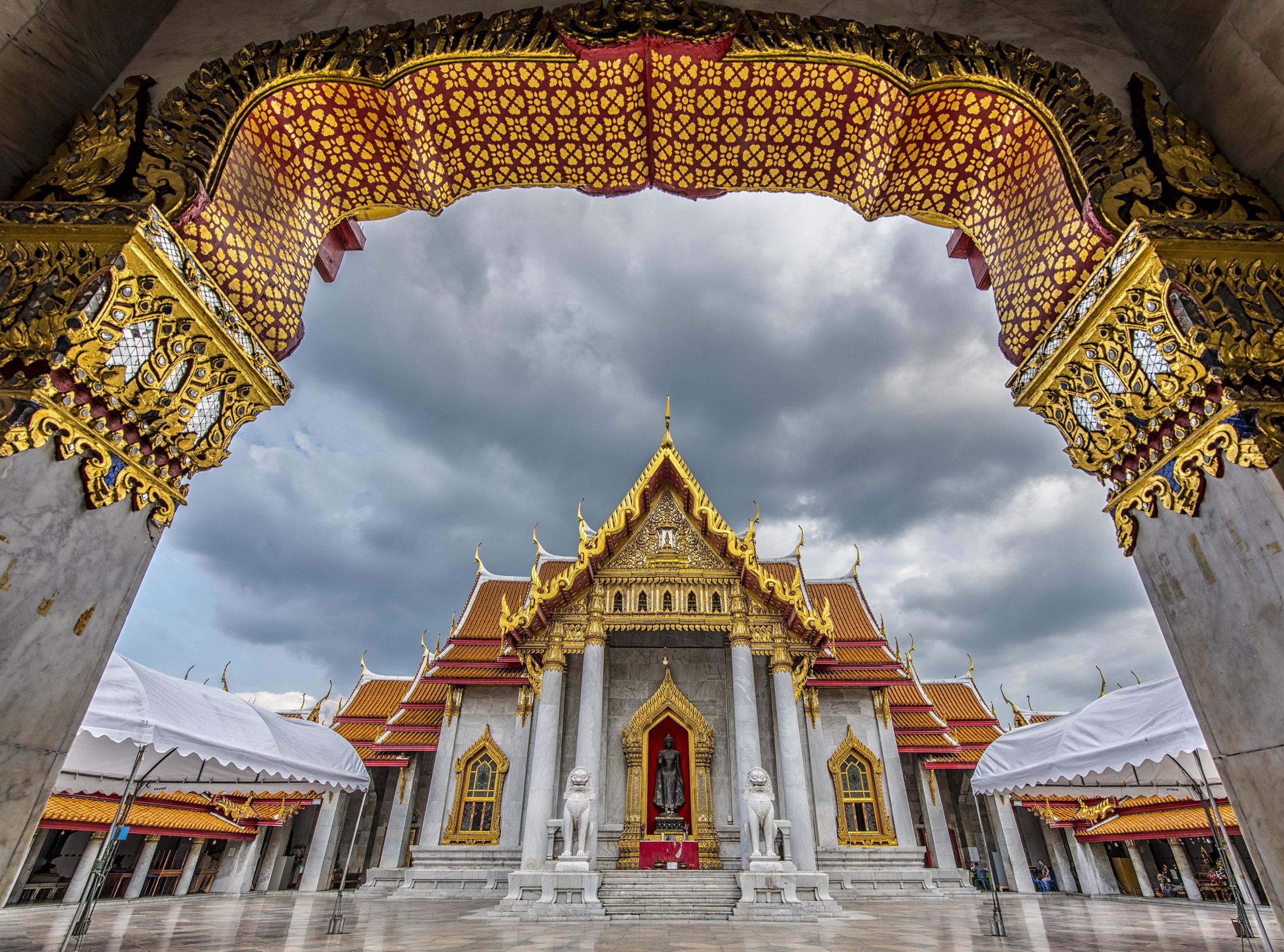 云石寺  Wat Benchamabophit   -1