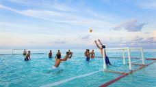 薇拉瓦鲁岛排球比赛