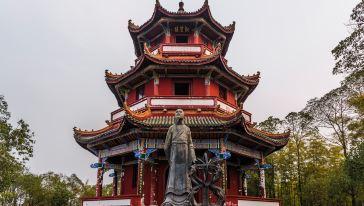 阆中  锦屏山风景区 观星楼 (1)