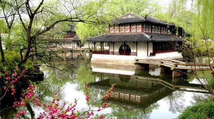 拙政园见山楼(春景图)