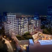 深藍複式公寓(青島會展中心海水浴場國信)