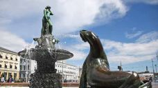 波罗的海的女儿雕像