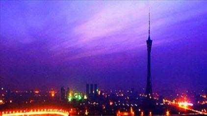 中原福塔灿烂夜景