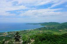 远眺亚龙湾-三亚-zhouhanmo