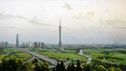 中原福塔远景