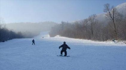 亚布力新体委滑雪场12