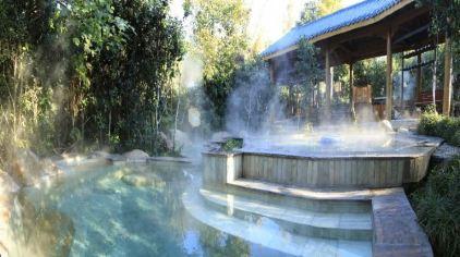 温泉室外汤池