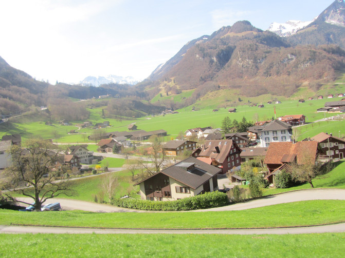 欧洲出差游2-惊艳的瑞士 - 琉森游记攻略